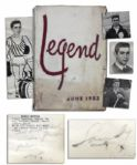 HOFer Sandy Koufax Signed High School Yearbook -- ...To be successful and make my family proud of me... -- With JSA LOA