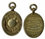 Football League Silver-Gilt Medal From the Representative Match With Irish Football League in 1966
