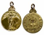 Scottish Football Alliance (Reserve League) Rangers Gold Winners Medal From the 1931 Season