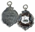 Ernest Needham Silver Football Medal From a 1919-1920 Tournament