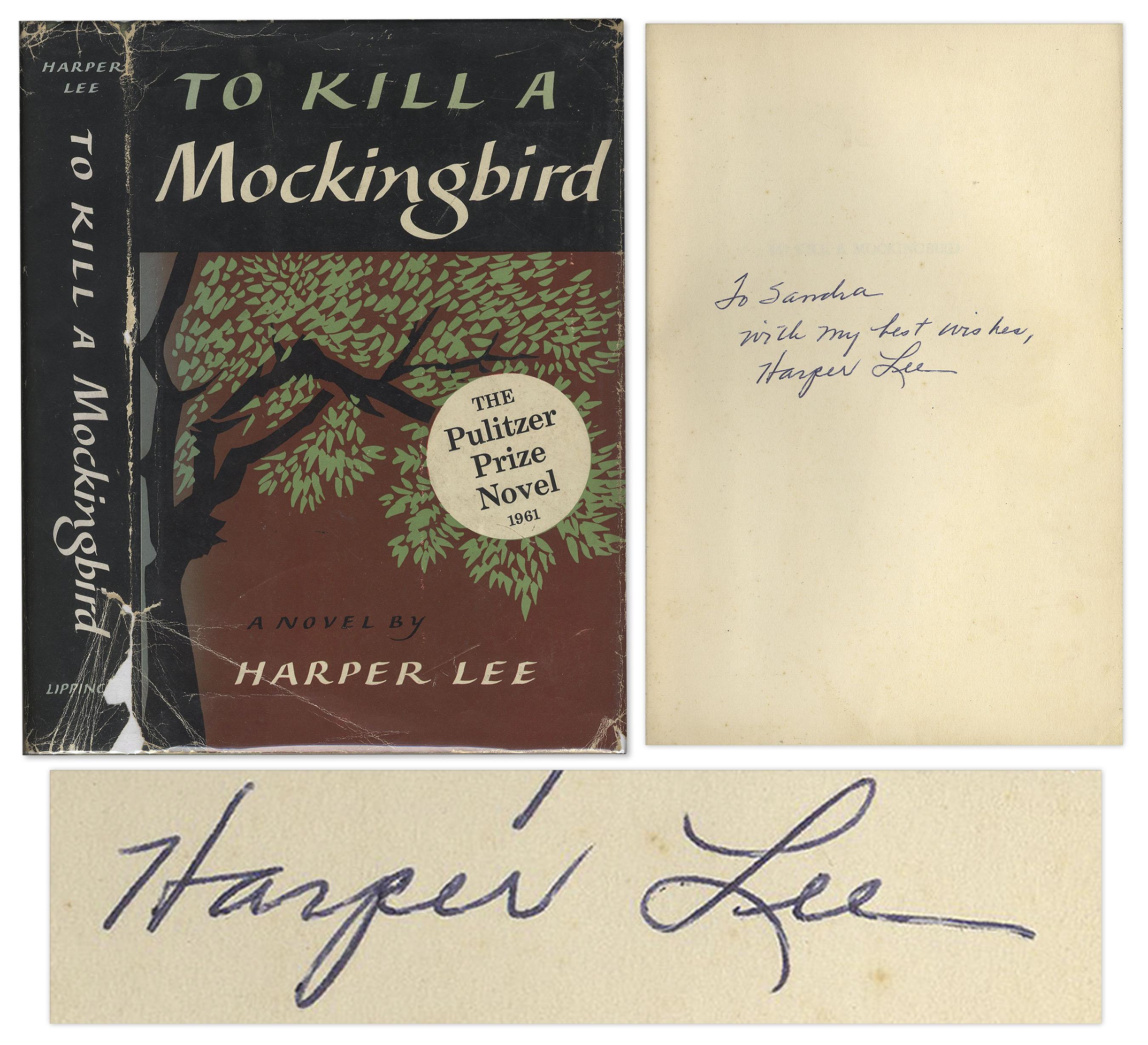 Lot Detail Harper Lee Signed 1960 First Edition Eleventh