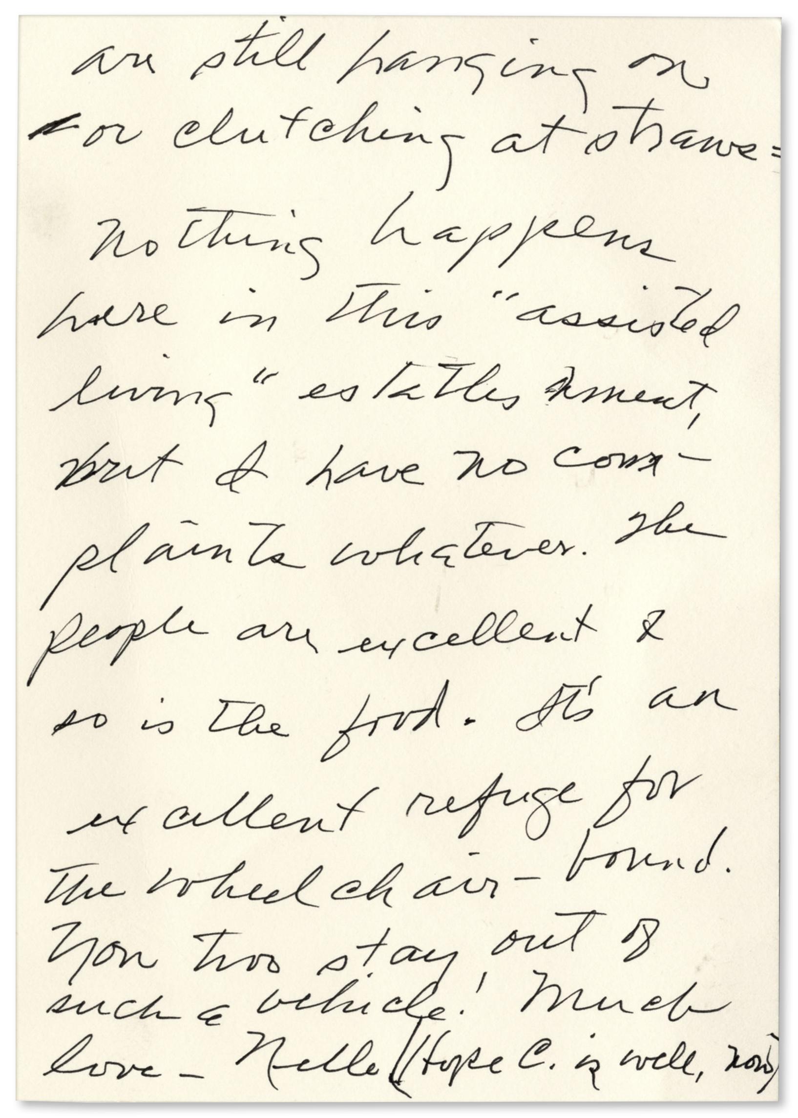 Lot Detail 2 Harper Lee Autograph Letters Signed Discussing
