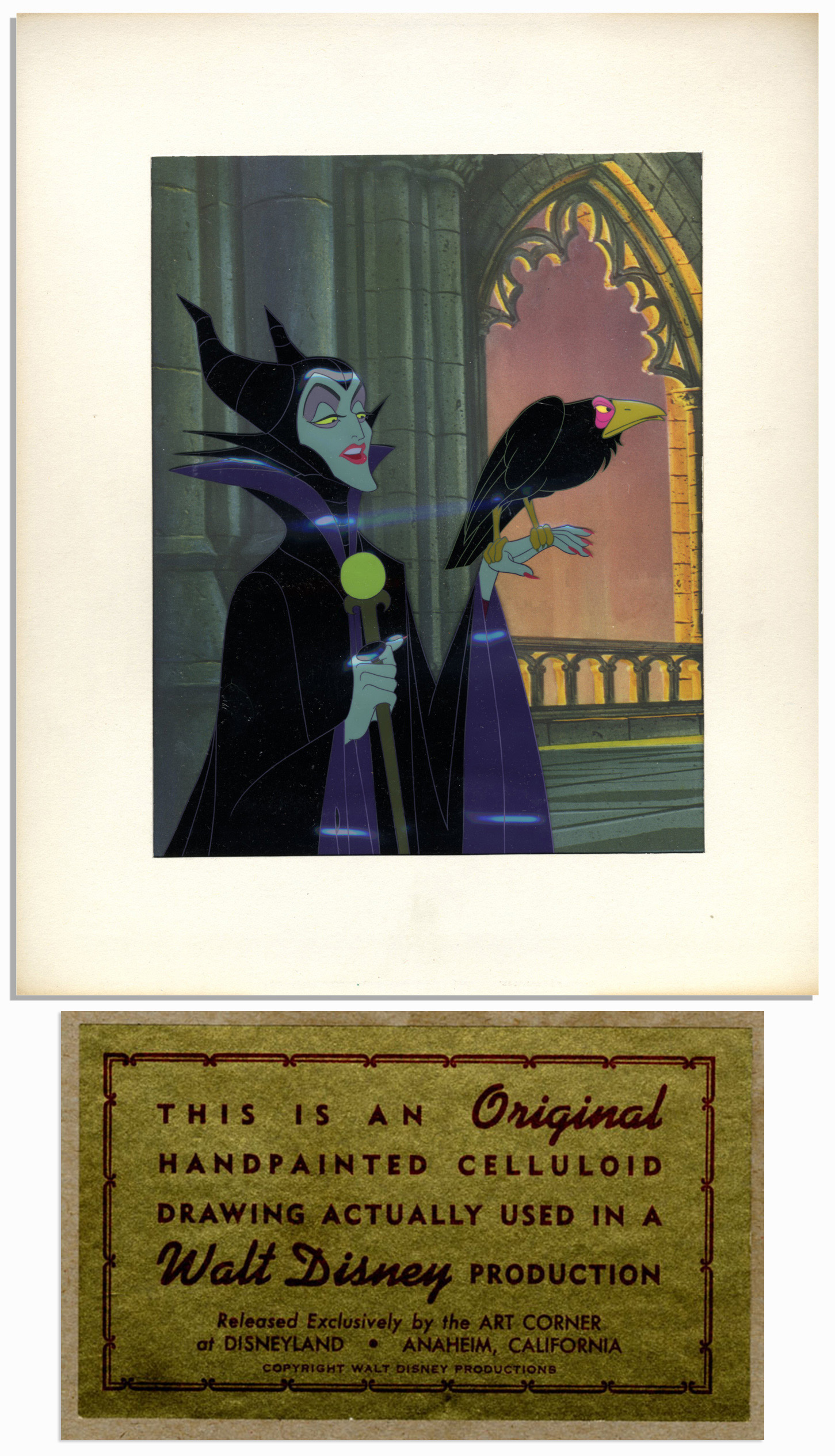 Walt Disney Sleeping Beauty Cel Sells @ $7,464 @ NateDSanders com