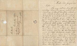 Edgar Allan Poe letter Edgar Allan Poe Autograph