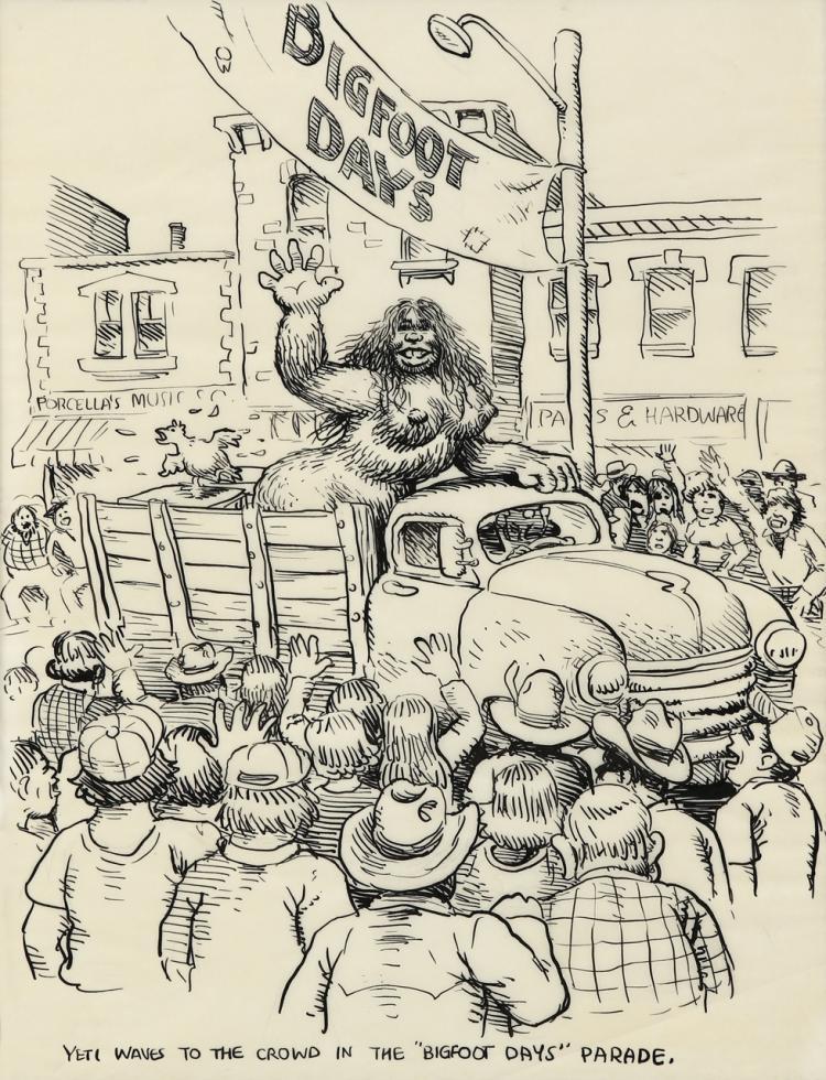 Robert Crumb Yarrowstalks Head Comix comic art