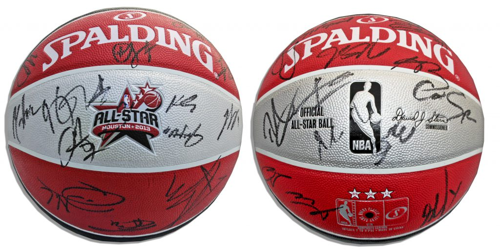 1992 Olympic Games Presentational Dream Team Signed Basketball