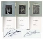 "Ansel Adams Signed Set of ""The New Ansel Adams Photography Series"" -- Complete Three-Volume Set, Each Signed by Adams"