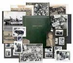 John F. Kennedy and Richard Nixon 1960 National Convention Photo Album -- Amazing Collection of Published and Unpublished Candidate Photos -- Also Eisenhower, Johnson, RFK, Henry Fonda & Frank Sinatra