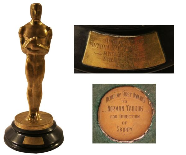Norman Taurog 1931 Oscar -- Best Director for Skippy -- Only 4th Year of Academy Awards -- Youngest Ever Winner for Directing