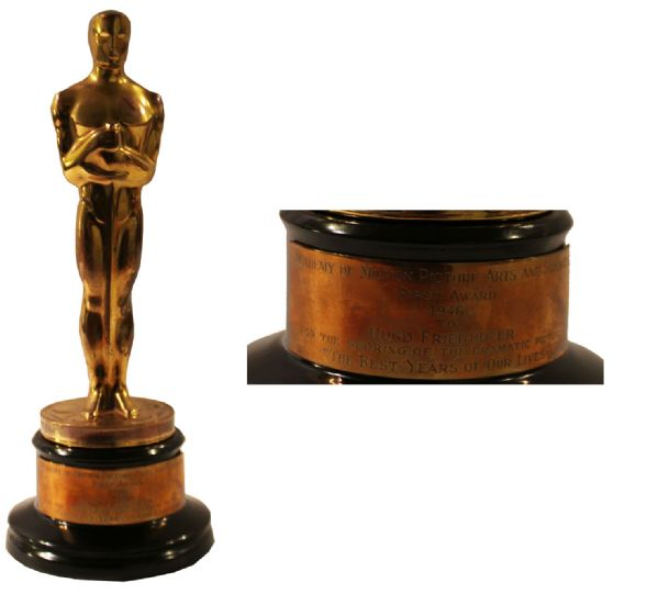 1946 Best Music Oscar Awarded to Hugo Friedhofer for The Best Years of Our Lives -- Best Music for Best Movie of the Year