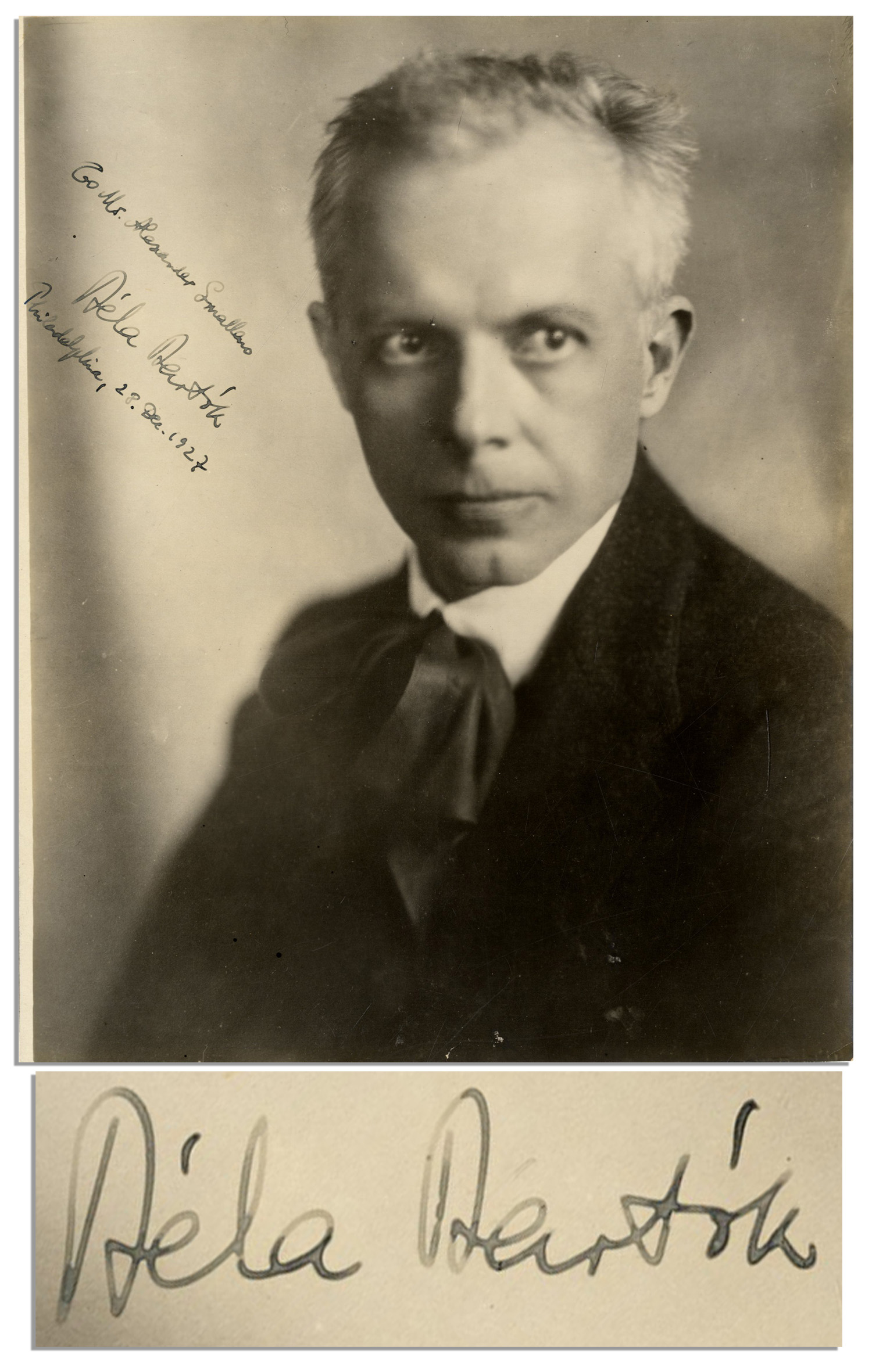 bela bartok In the 19th century the wealth of magyar folk music was virtually unknown to  hungarian composers when béla bartók first transcribed a hungarian folk tune  in.