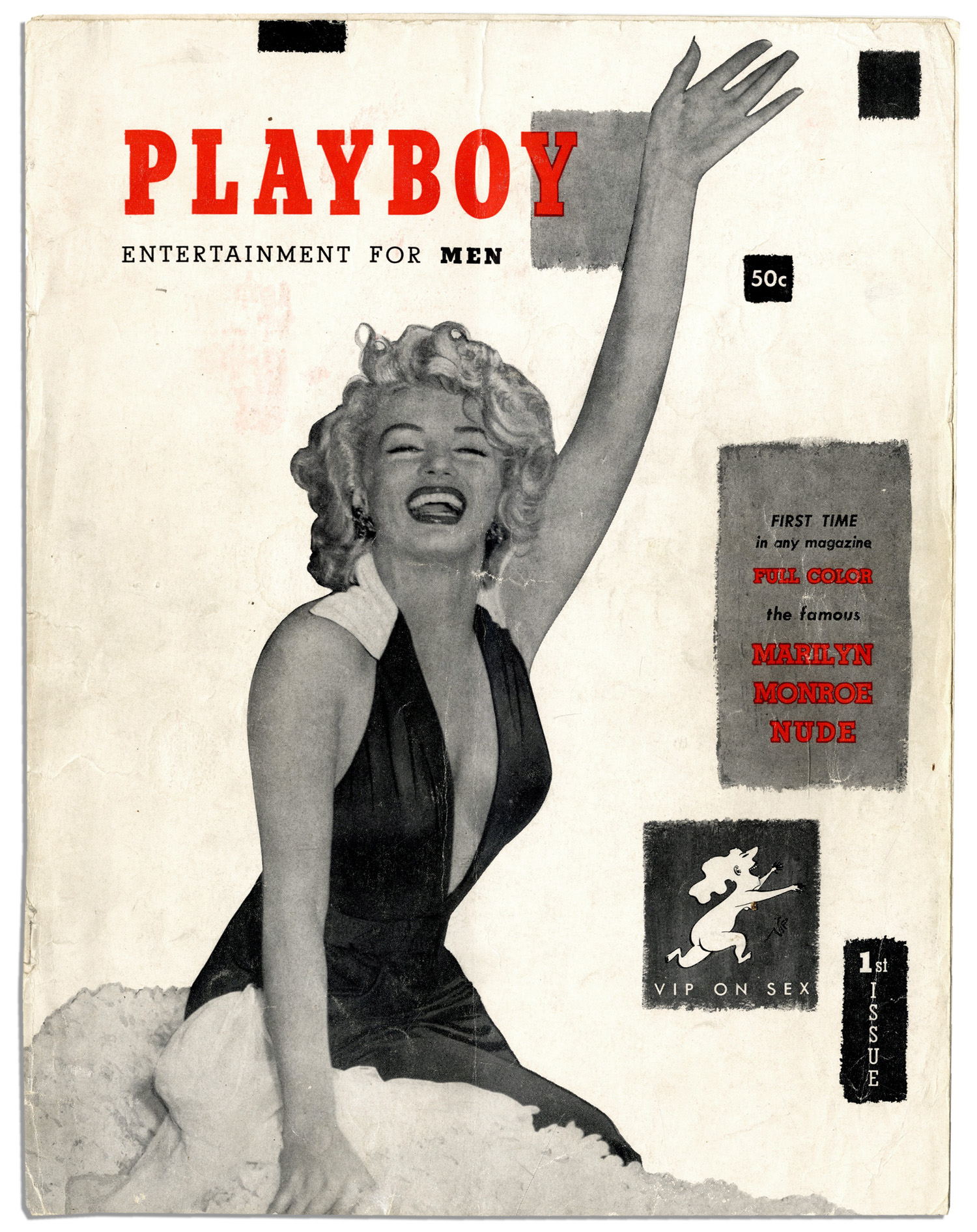 playboy Marilyn december magazine nude monroe