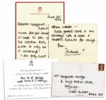 Princess Diana 1992 Autograph Letter Signed -- ...as always lots of love & endless thanks for caring...