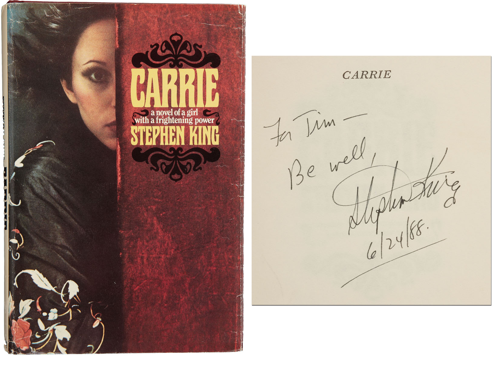 For sale hello, i'm carrie (post office, signed first edition.