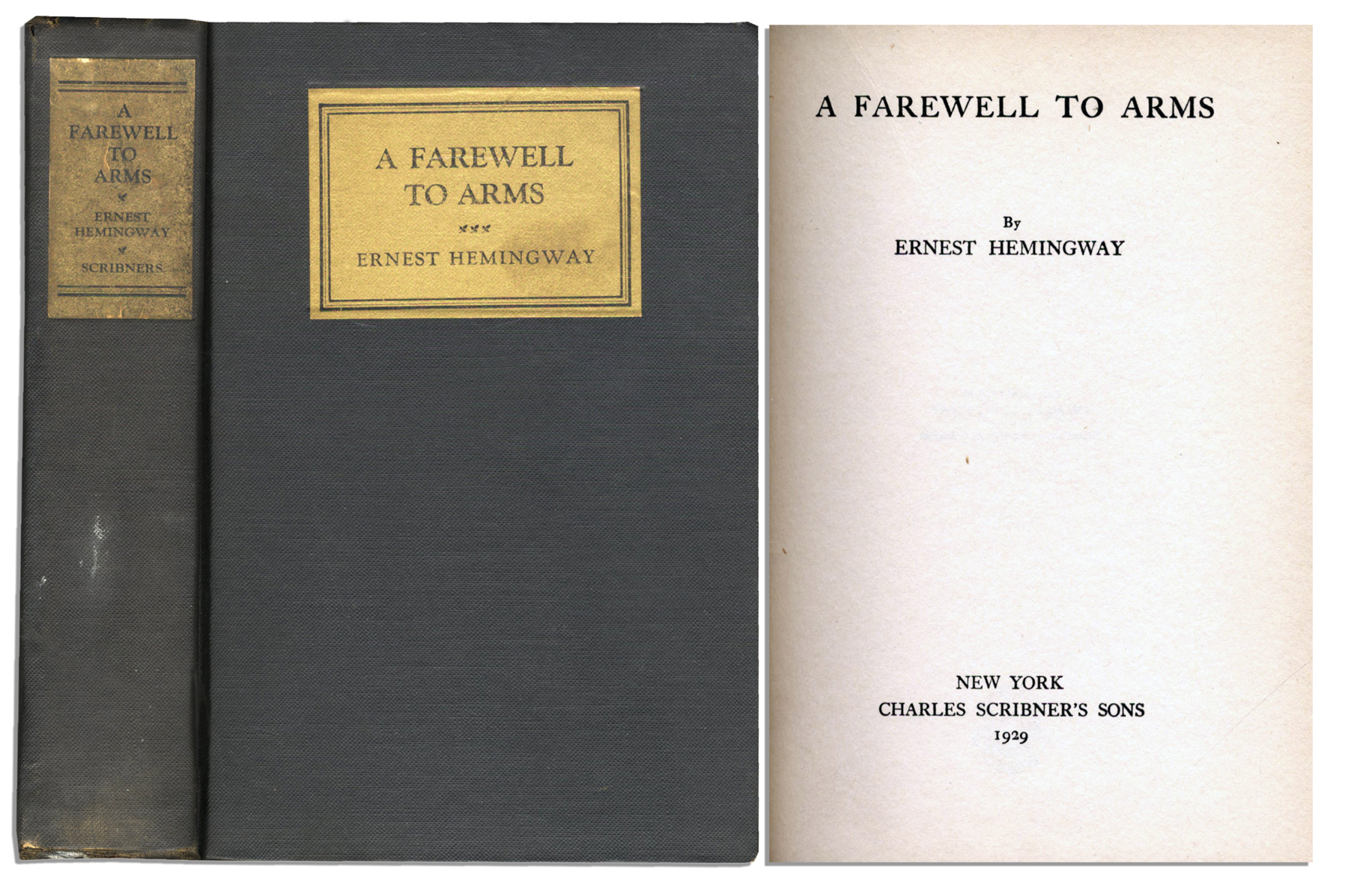 a farewell to arms ernest hemingway essay