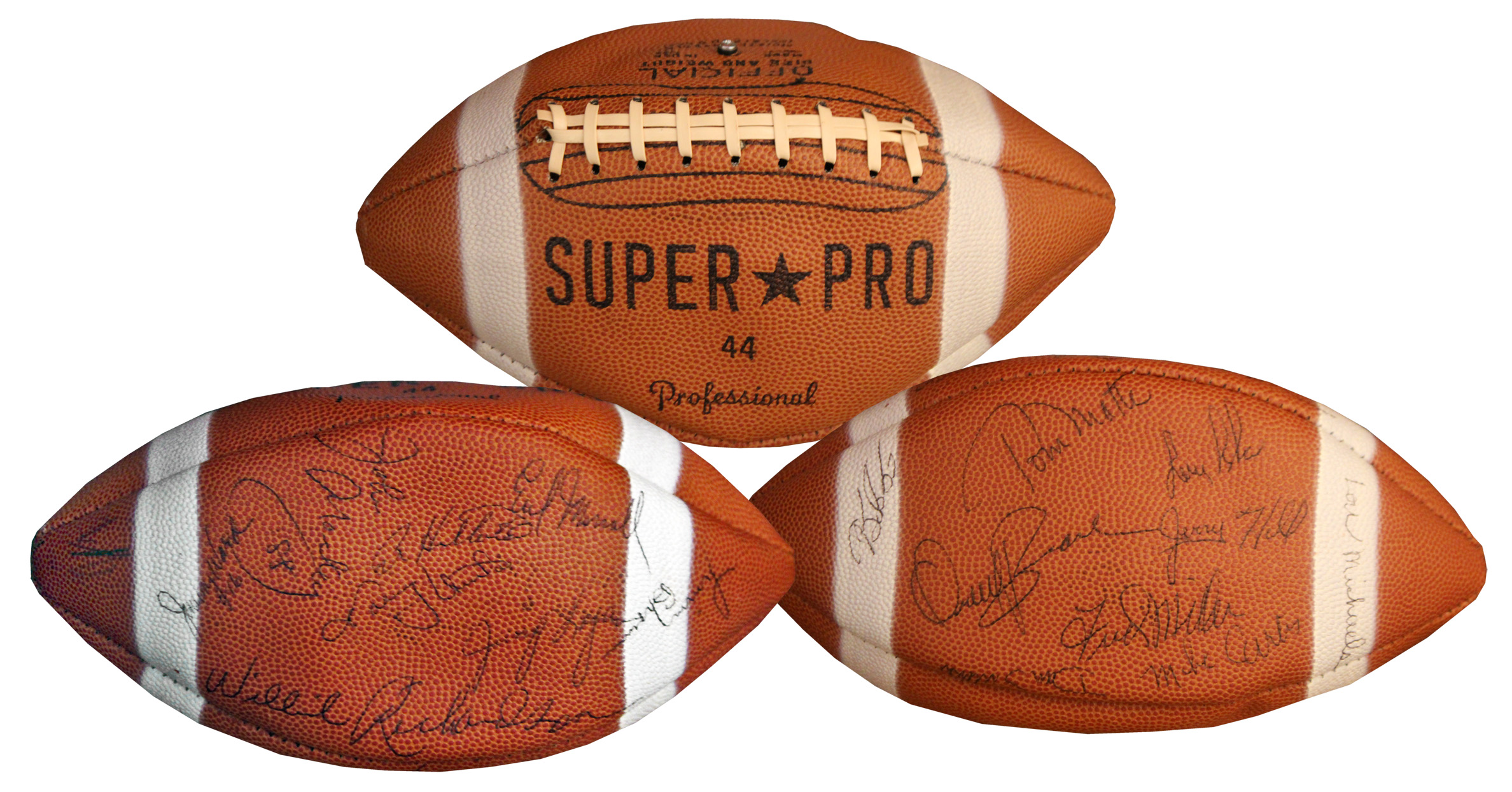 new concept 07010 3a452 Lot Detail - Baltimore Colts 1968 Signed Football -- With ...