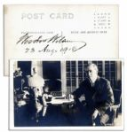Woodrow Wilson Signed Photo as President