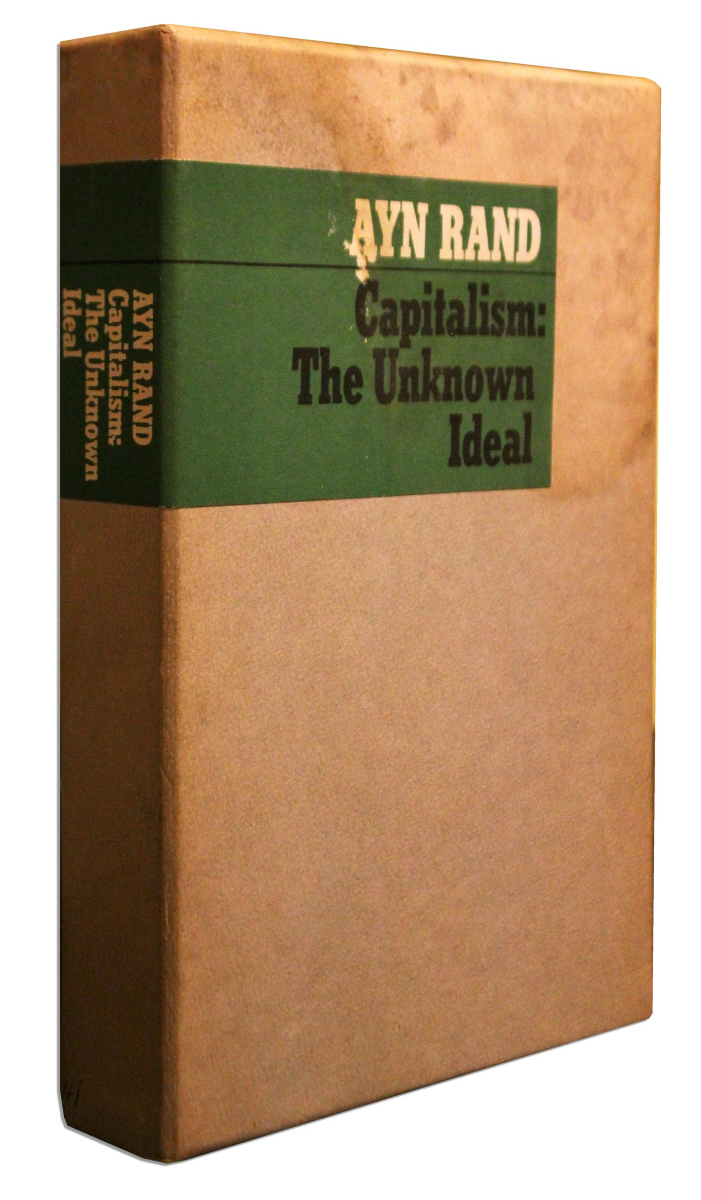 ayn rand essays on capitalism Capitalism: the unknown ideal ayn rand from: $379  the voice of reason:  essays in objectivist thought (the ayn rand library, vol v) ayn rand.
