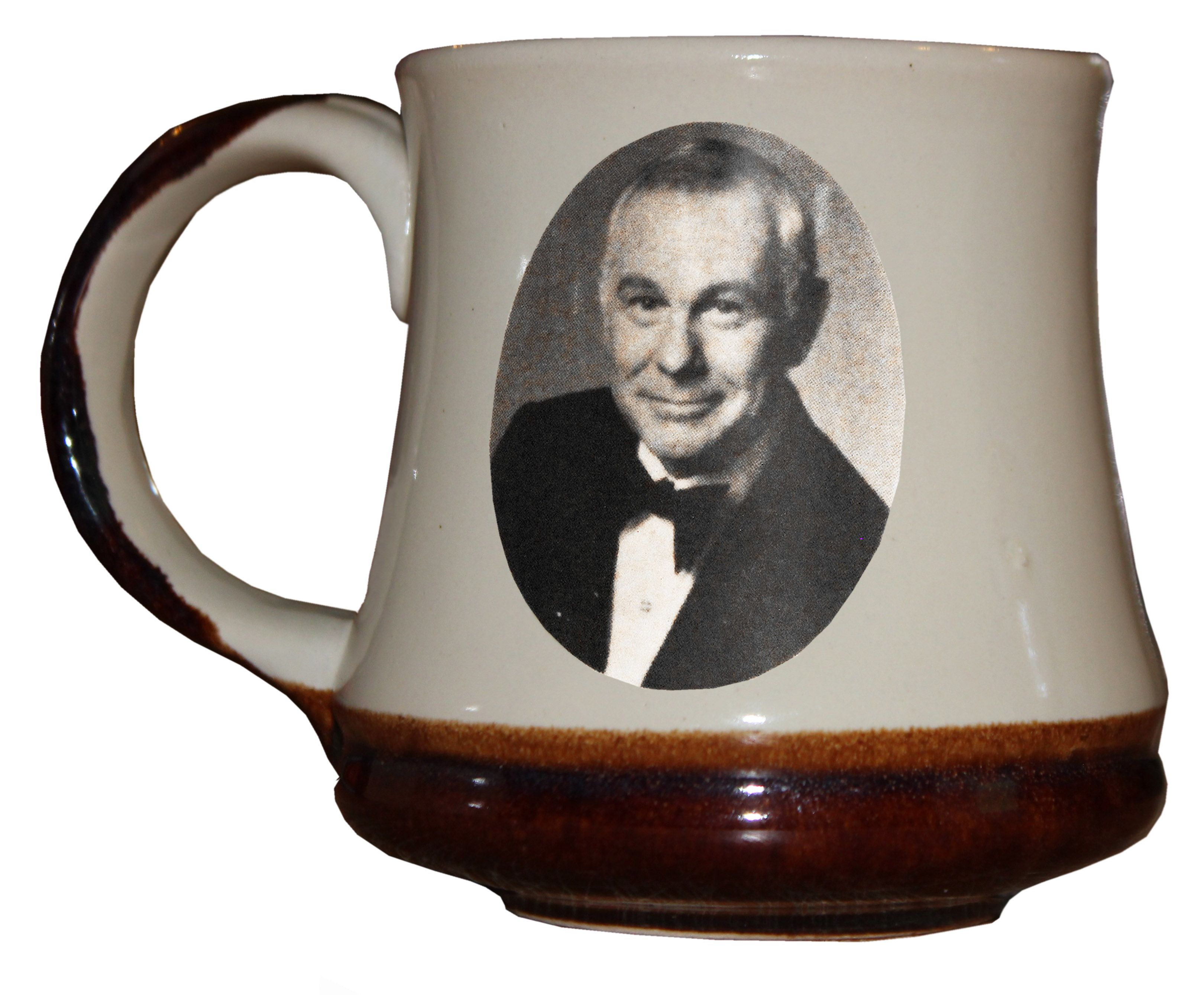 Lot detail johnny carson coffee mug used by carson on for The carson