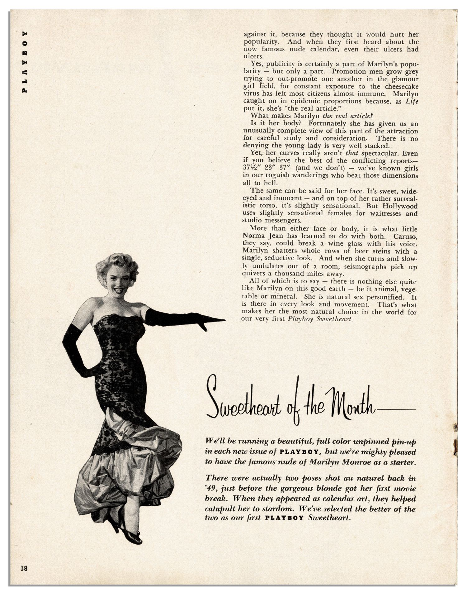 Playboy First Issue 1953 Marilyn Monroe PDF digital