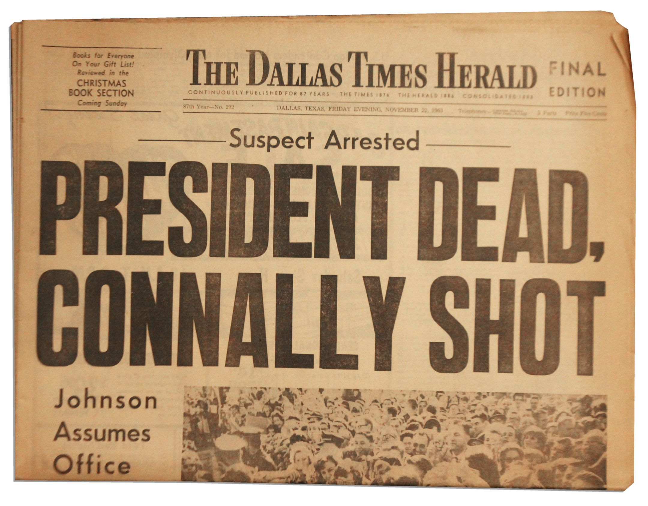 JFK Assassination Paper!?