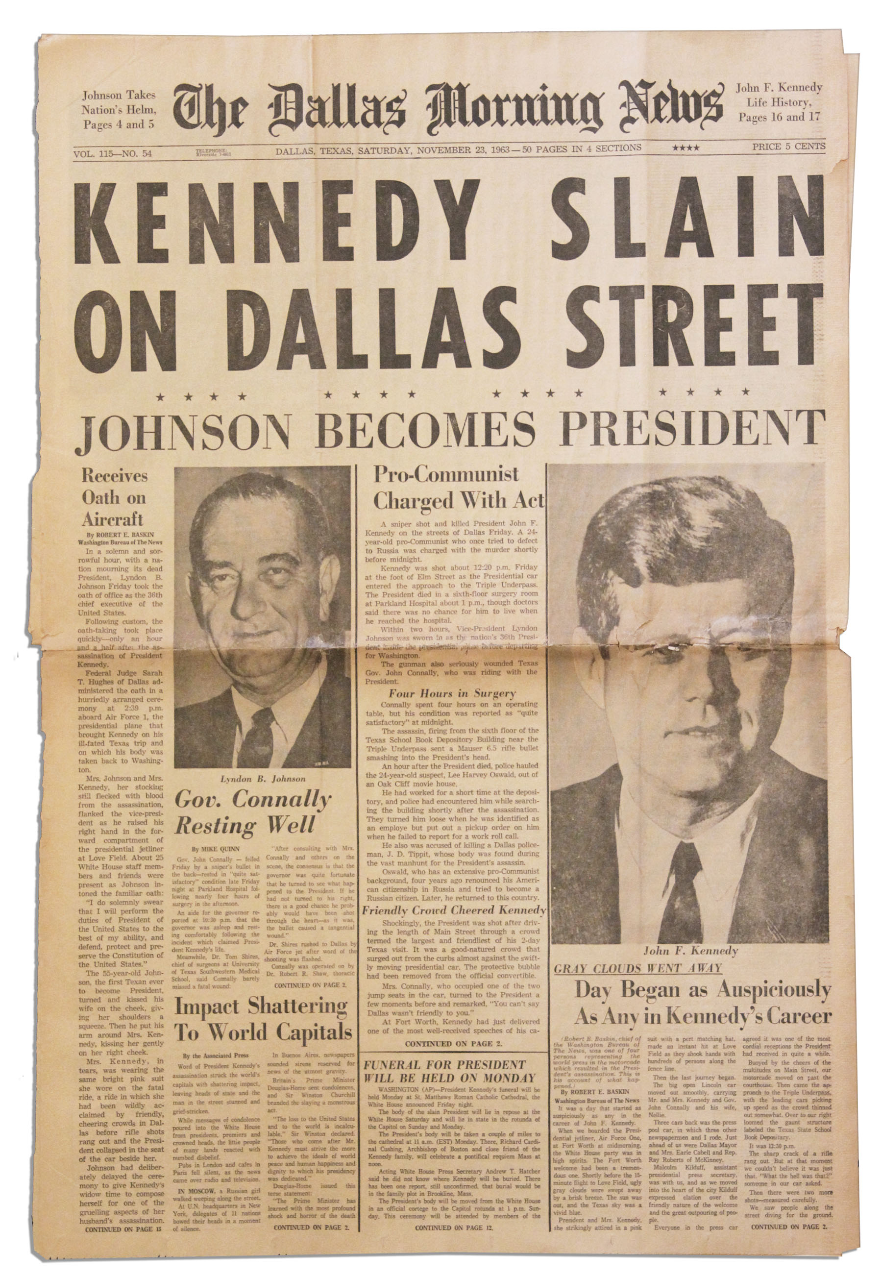 jfk assasination essay
