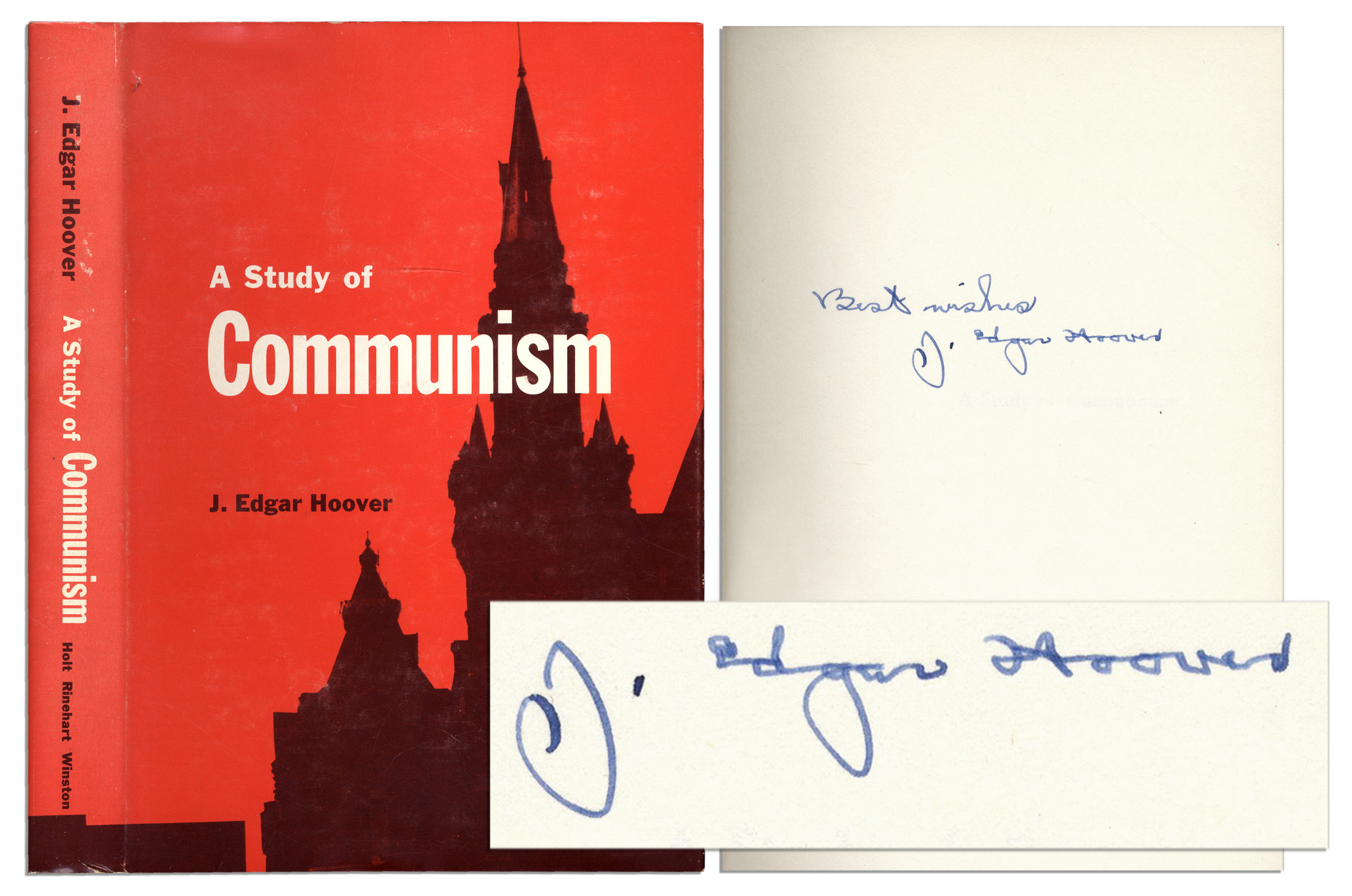 A Study of Communism: J. Edgar Hoover: 9780030311901 ...
