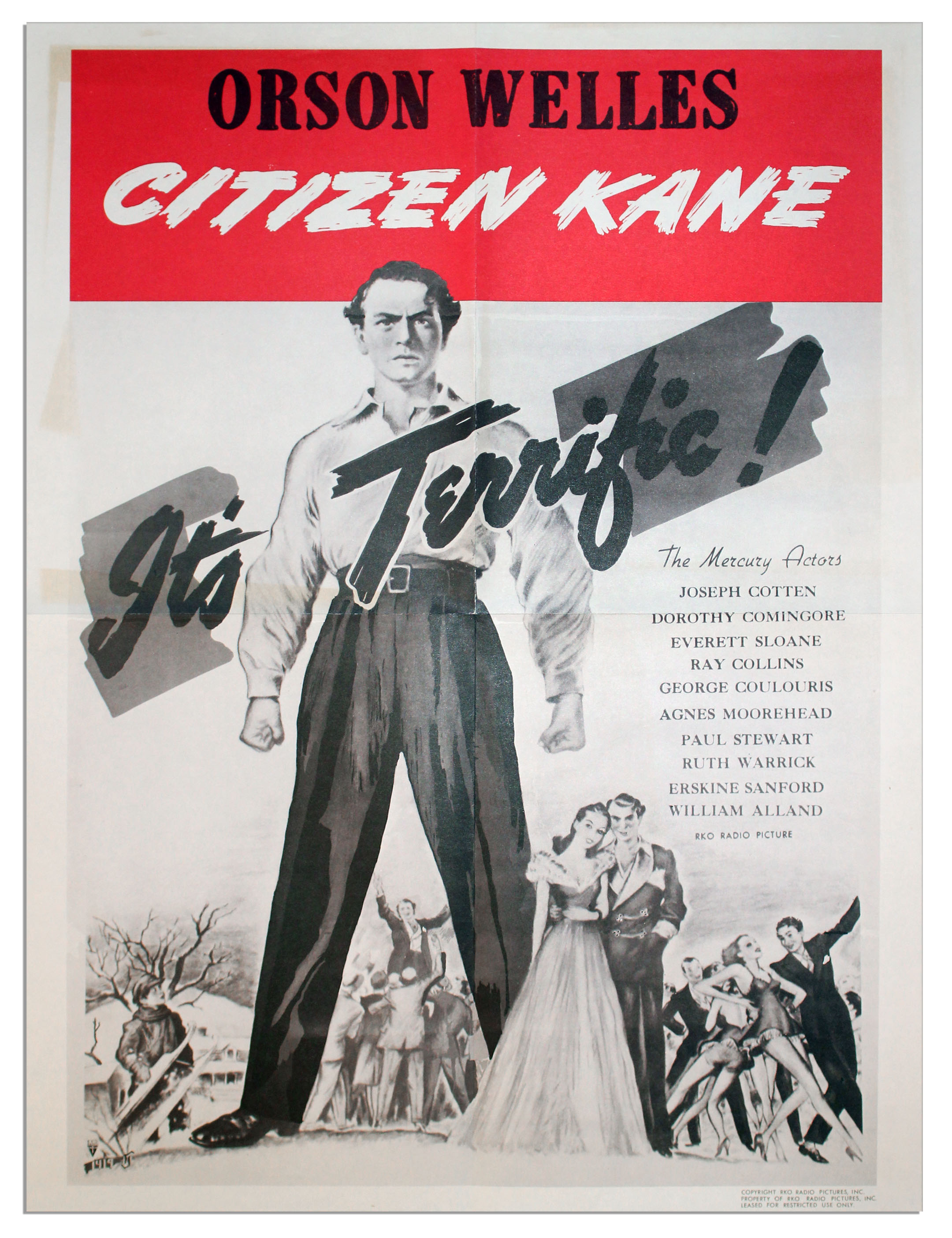 engl 284 citizen kane essay Citizen kane introduced major cinematic advance on various fronts in film making perhaps a huge influence came from its use of flash backs.