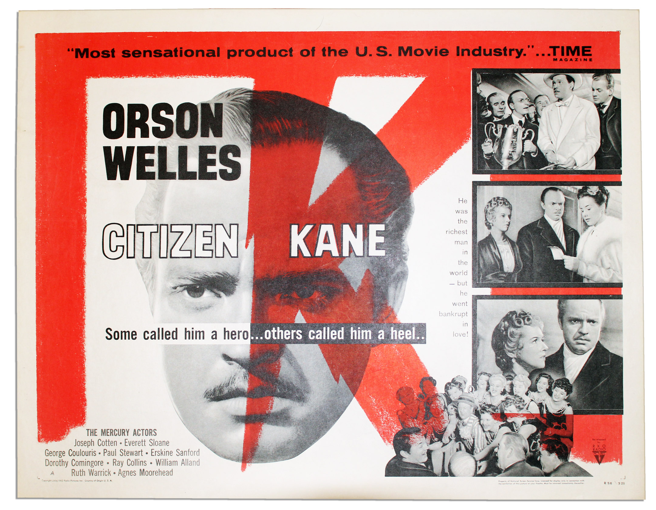 the 1941 film citizen kane Citizen kane - 16mm film - 1941 - orson welles a nice and very rare 16mm film the film is complete and good condition these details is not serious and does not affect the story it is very difficult to find a copy of this film | ebay citizen kane - 16mm film - 1941 - orson welles a nice and very rare 16mm film.