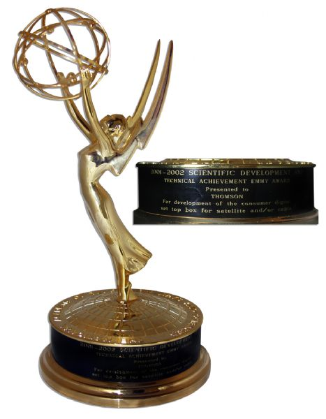 Rare 2002 Emmy Award for Technology & Engineering
