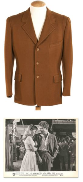 James Dean Costume Auction James Dean Screen-Worn Jacket From ''East of Eden''