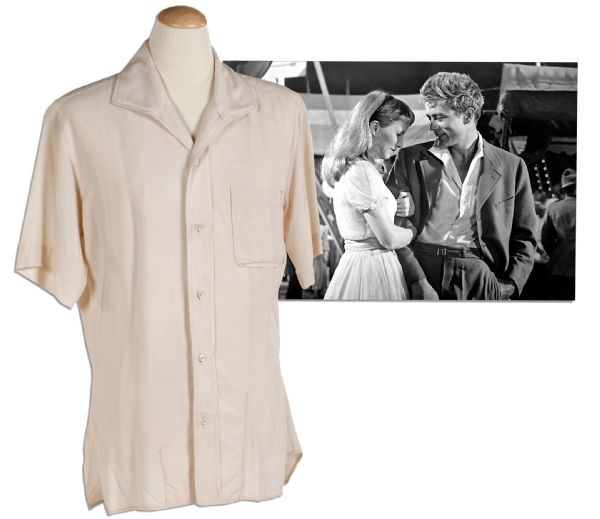 James Dean Costume Auction James Dean ''East of Eden'' Screen-Worn Shirt