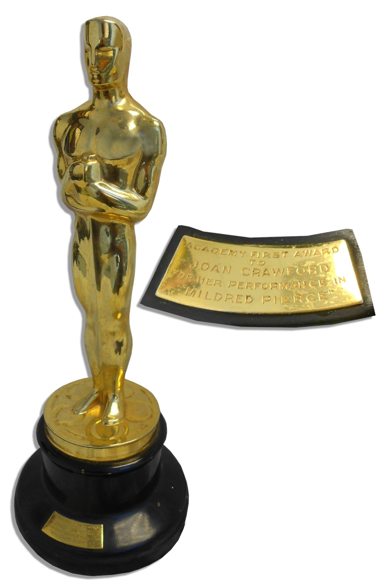 Joan Crawfords Best Actress Academy Award Oscar For Mildred Pierce