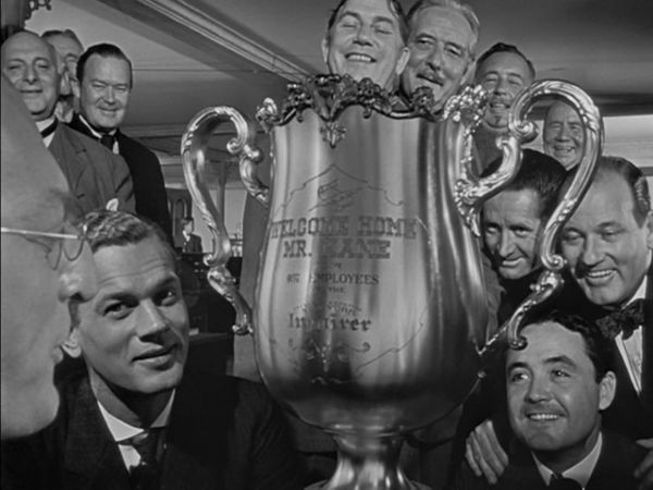 Orson Welles Screen-Used Trophy From ''Citizen Kane'' -- the Iconic Trophy That Orson Welles Holds During the Film, Symbolizing the Height of Kane's Power & Ambition -- Measures 1.5 Feet Tall