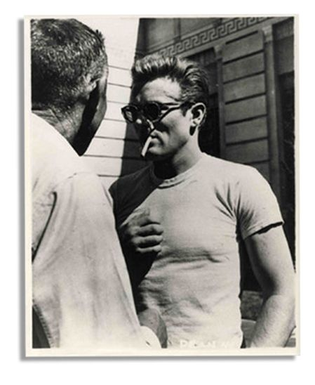 James Dean Screen-Worn T-shirt in ''Rebel Without a Cause'' -- Film Prompted National Frenzy of T-shirt Sales