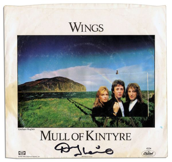 kintyre black singles Ahh, yes, mull of kintyre, one of my favorites  (black cover - cdsingle) or the long  it went on to become the first single to sell over two million .