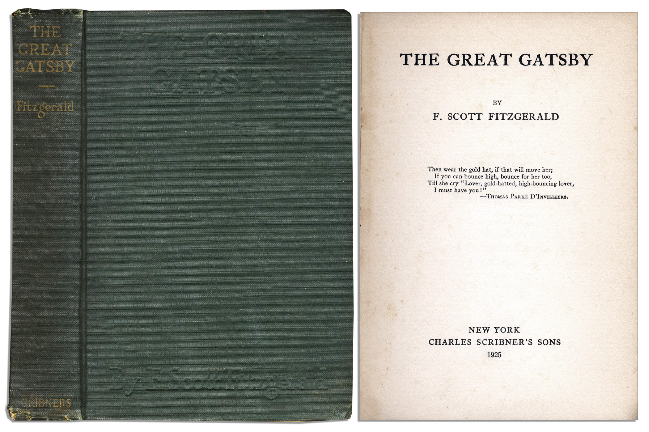 Image result for f scott fitzgerald the great gatsby first published