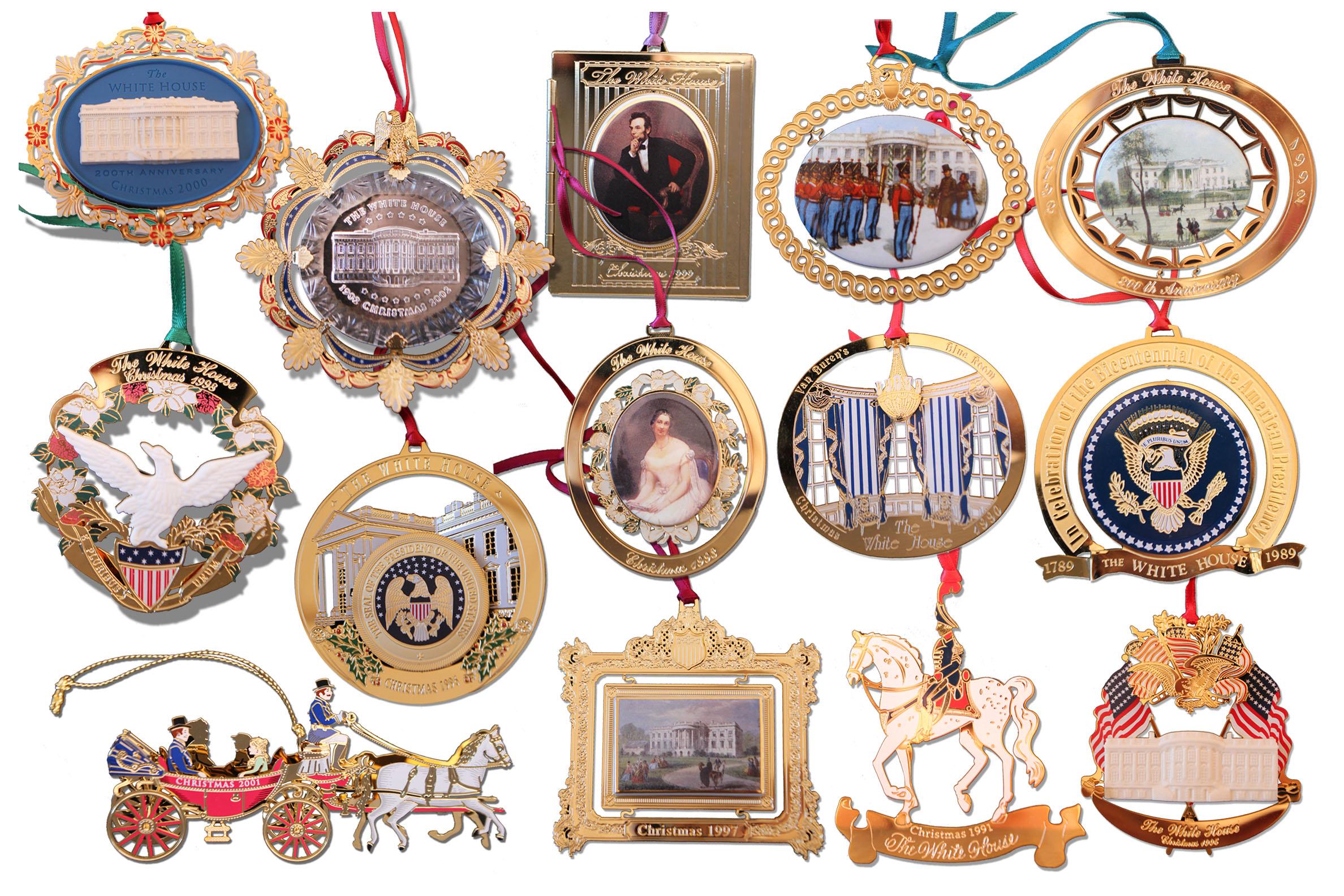 Lot Detail - White House Historical Association Christmas ...