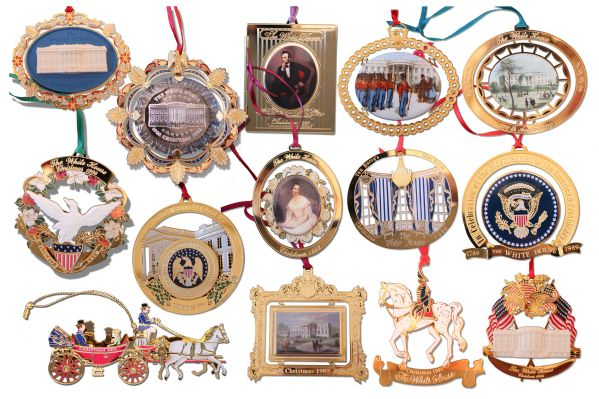 White House Historical Ornaments - Architectural Designs