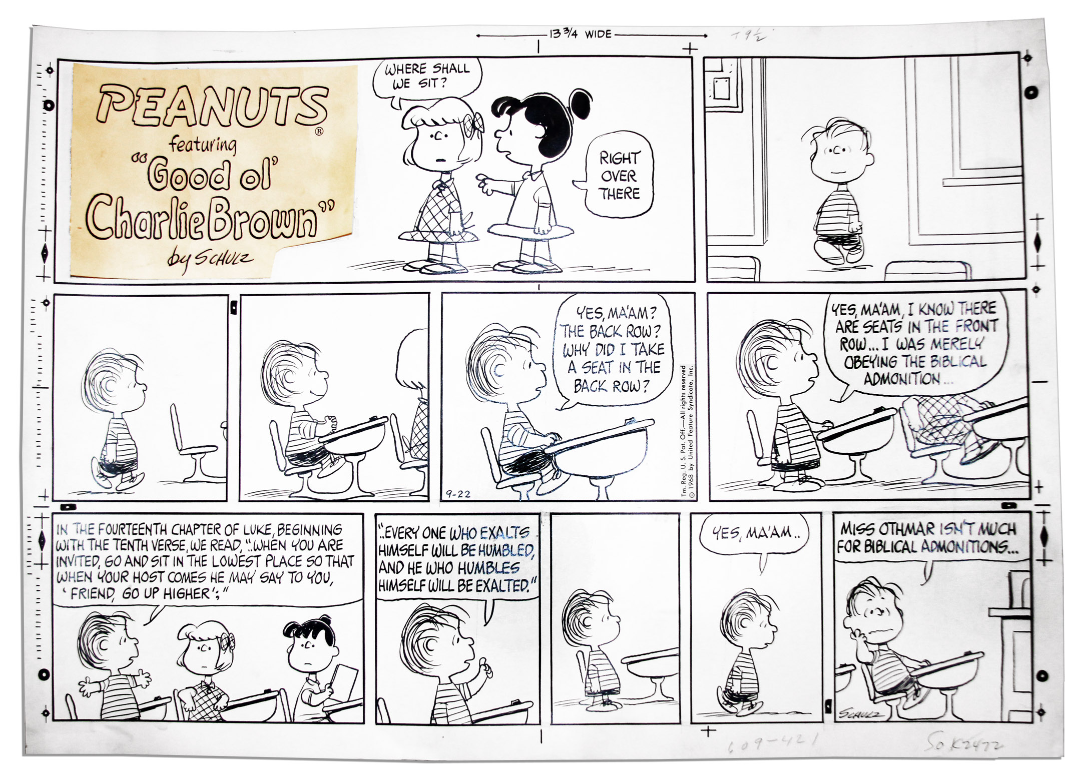 view peanuts septemeber comic strip