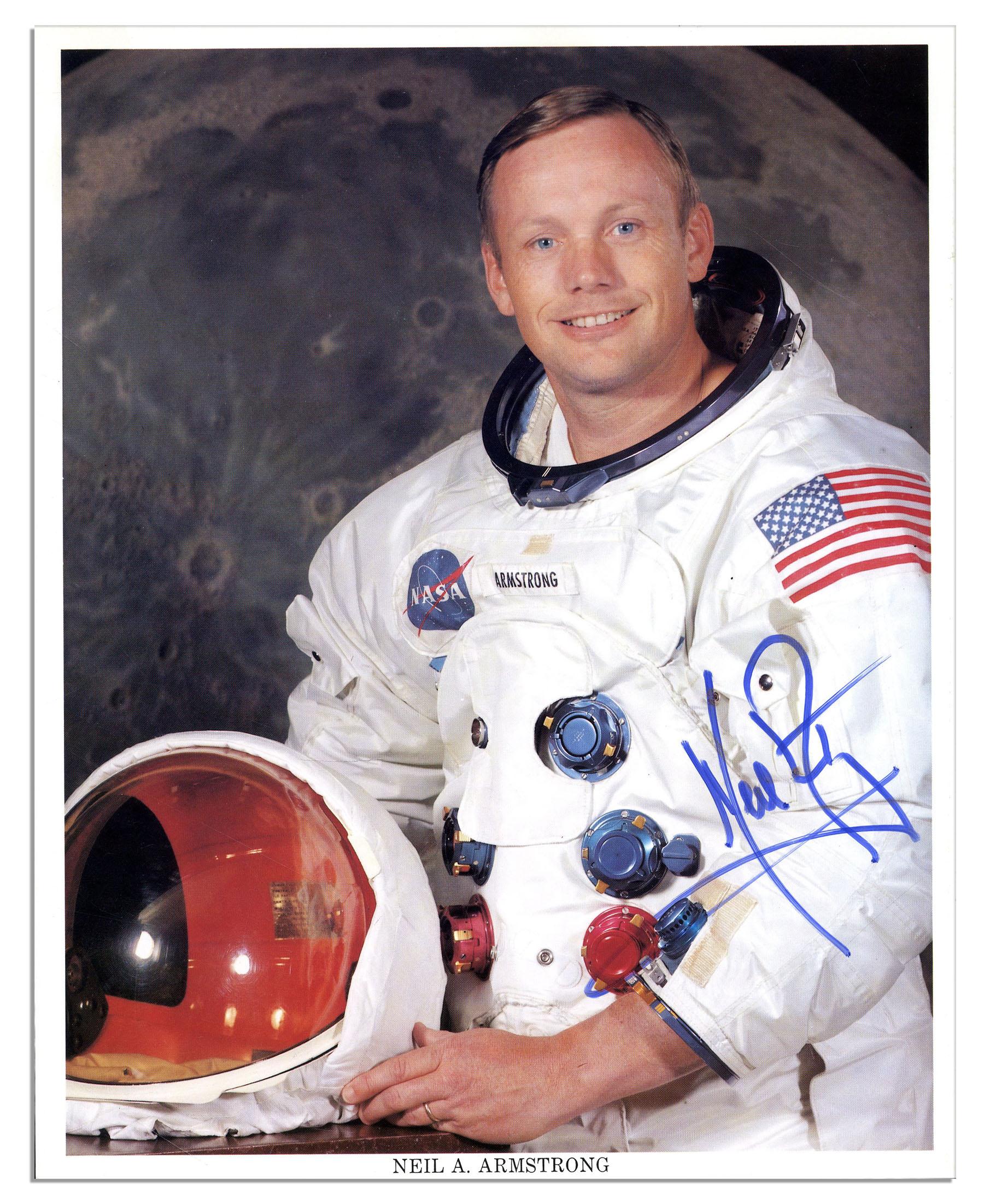 Moonwalker autograph