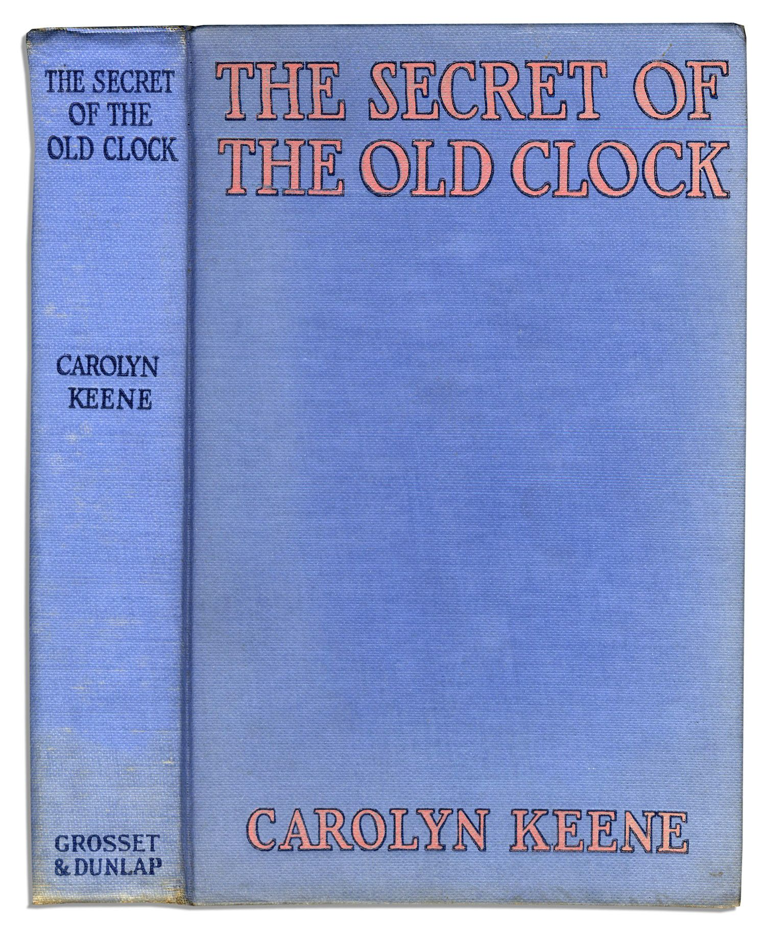 Nancy Drew Secret of the Old Clock 1st Edition