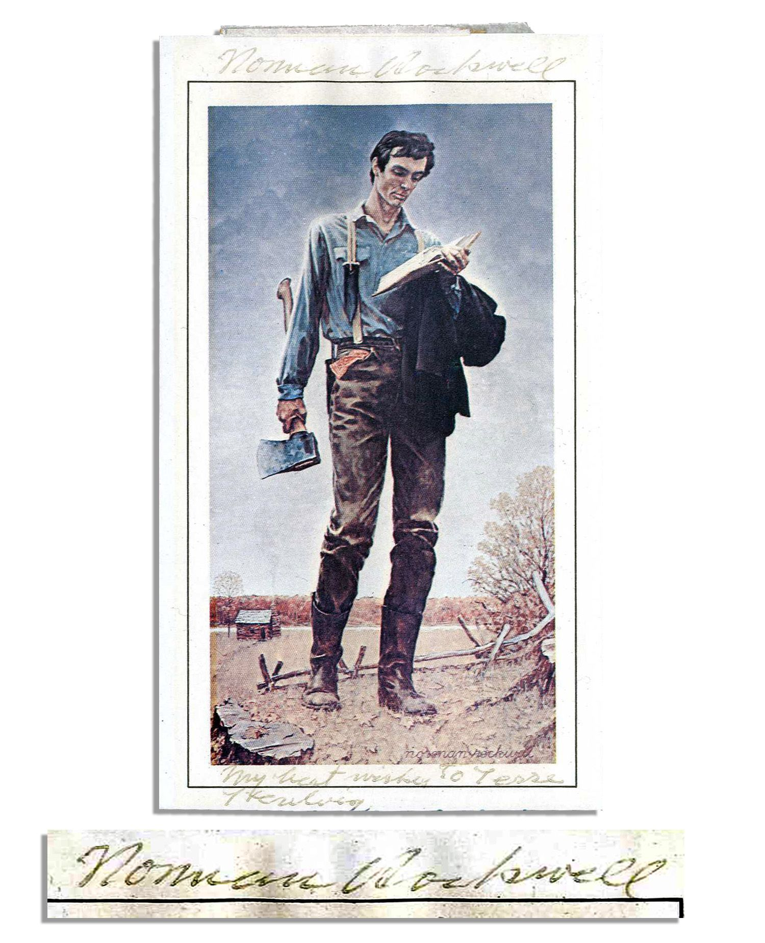Norman Rockwell Young Abraham Lincoln Pictures To Pin On
