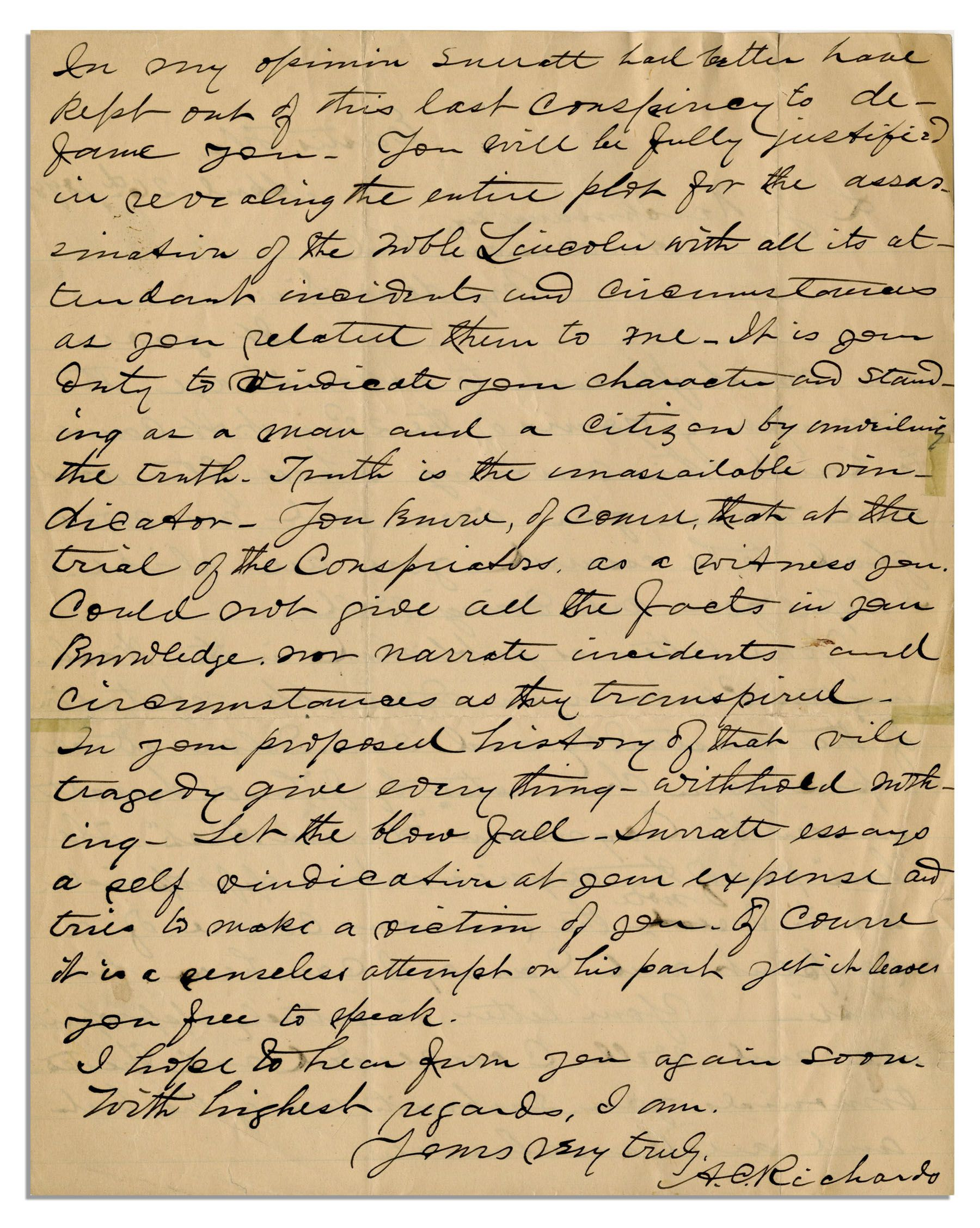 abraham trial essay Abraham lincoln - documents about this collection collection provided by: illinois state library the illinois state library has a in addition to biographies of lincoln this collection includes contemporary accounts of the assassination and the trial of the conspirators.