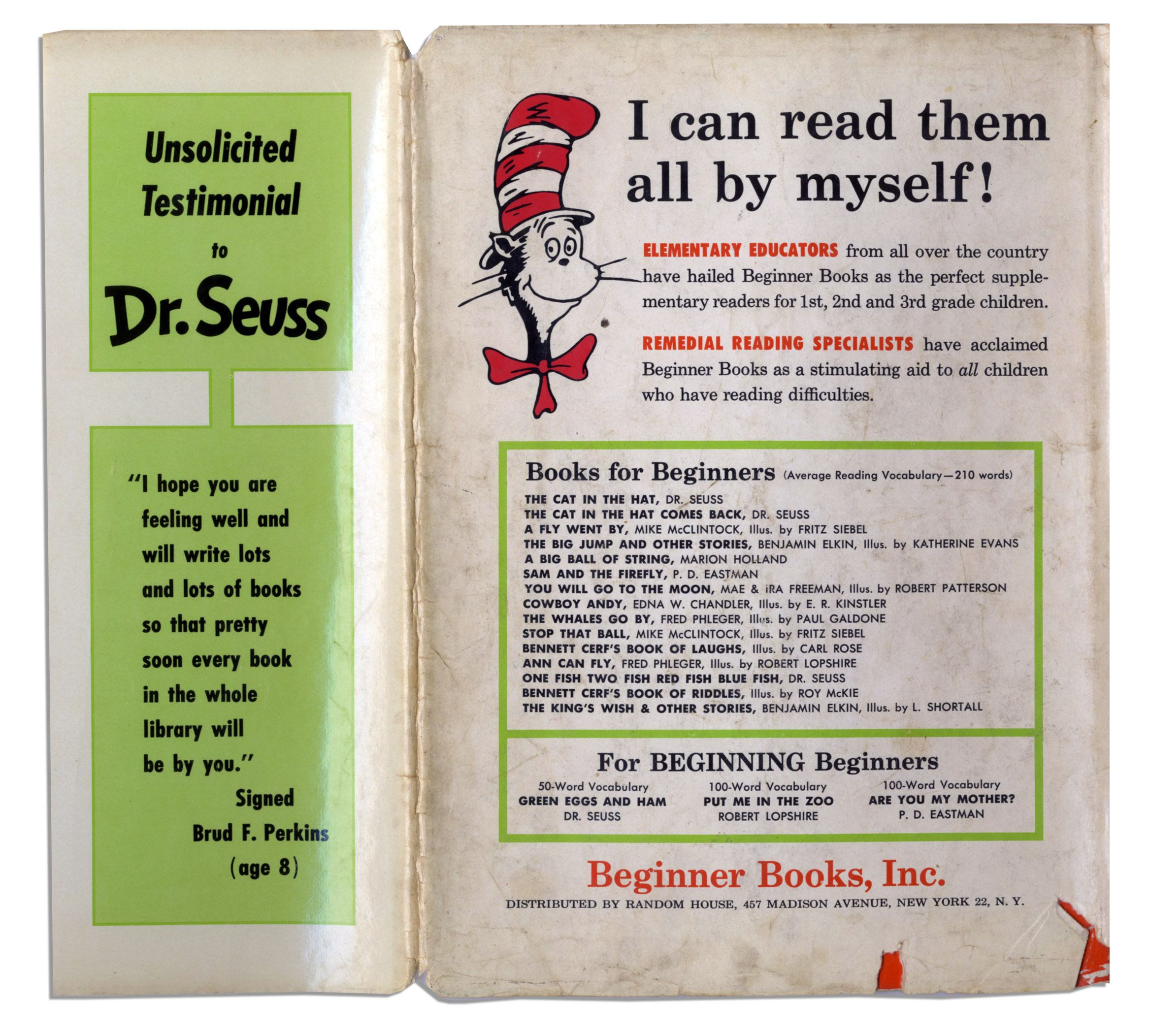 lot detail scarce first edition of dr seuss u0027 beloved u0027 u0027green