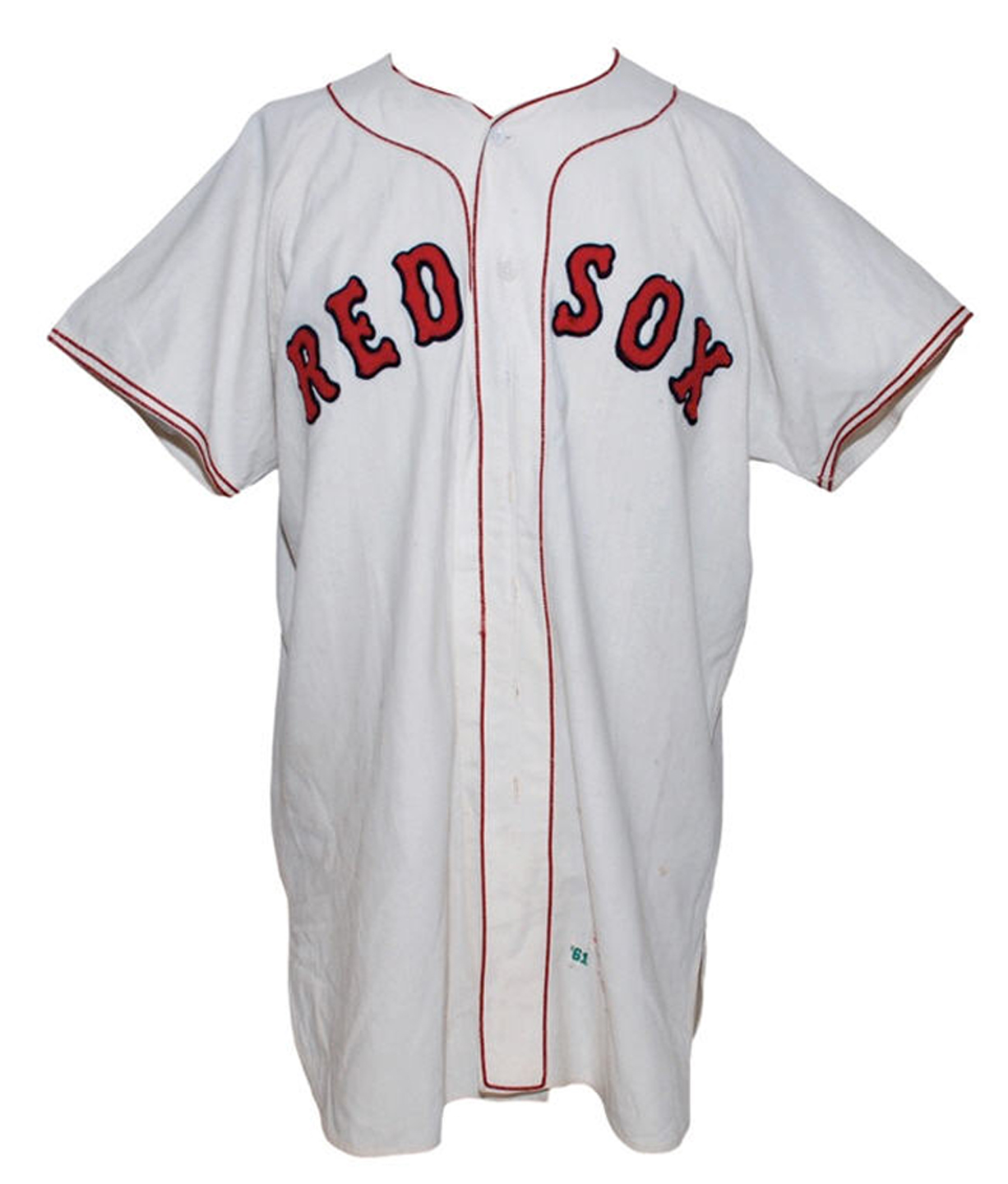 5405fd89043 ... buy rudy york boston red sox game worn home jersey 1961 0c2a1 51e65