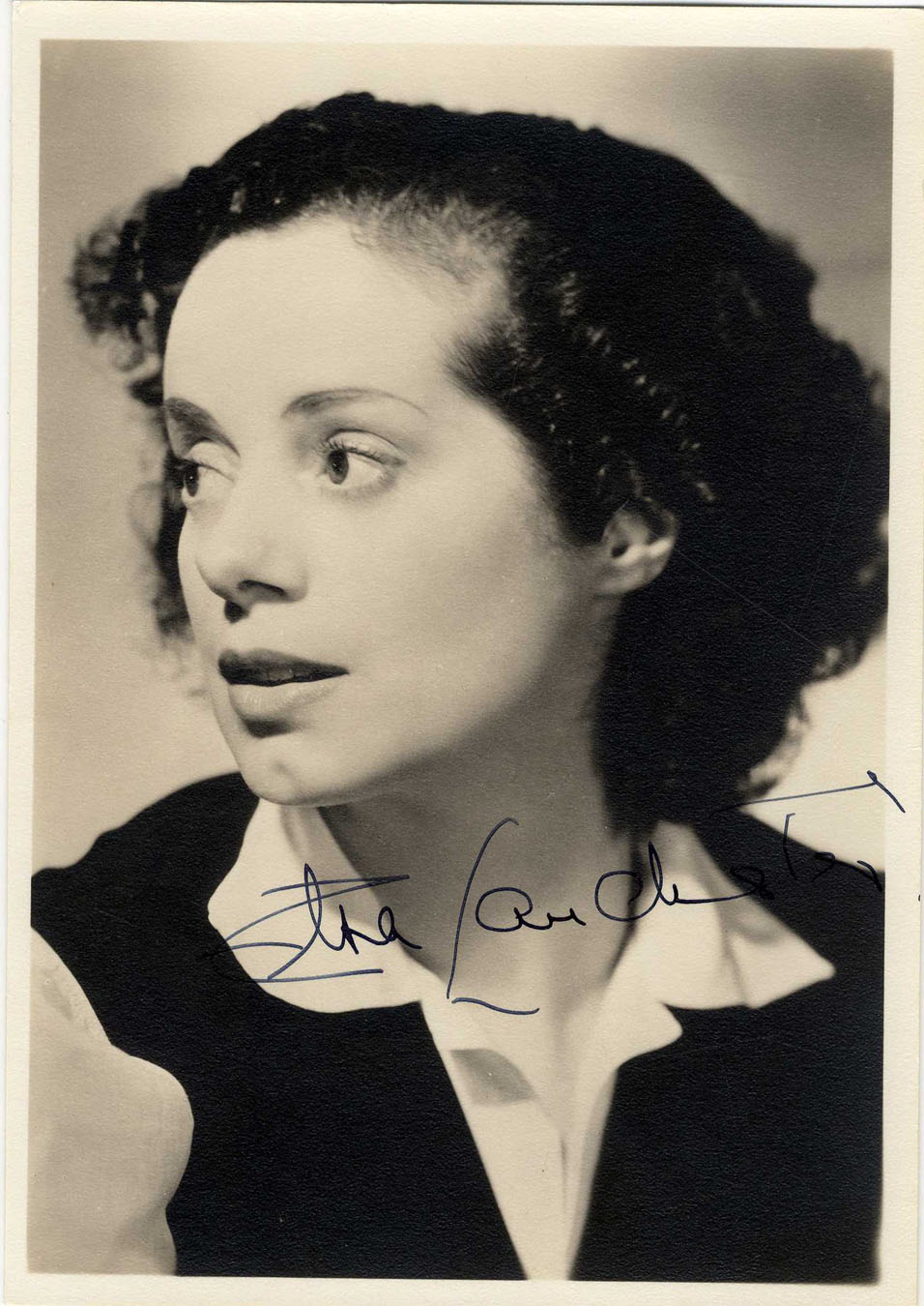 --   Bride of Frankenstein   Actress -- 5   x 7   Matte -- Near FineBride Of Frankenstein Actress