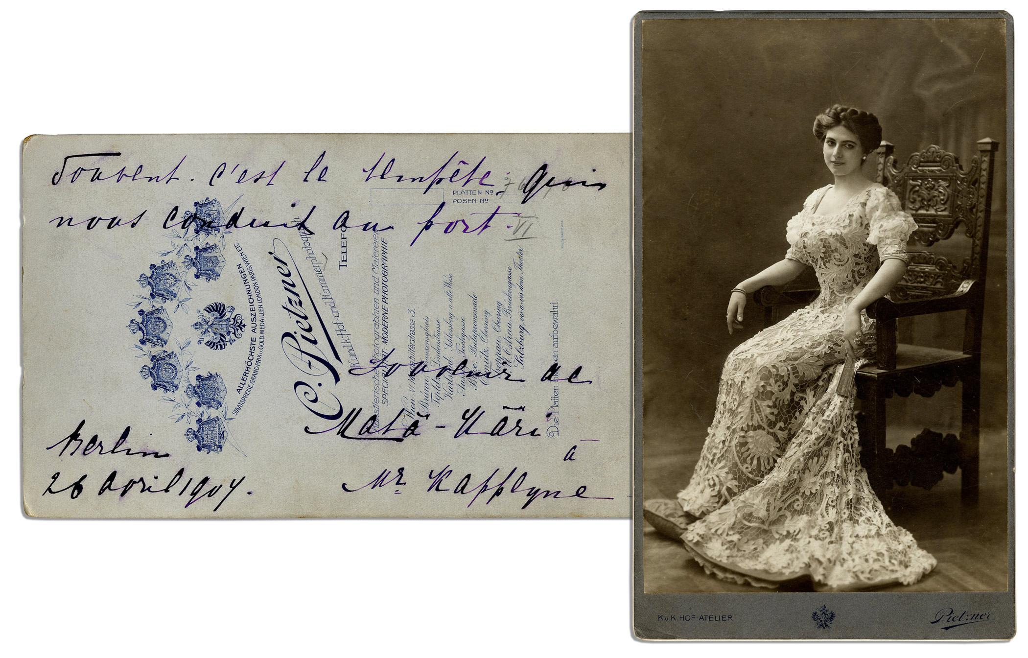 Mata Hari Autograph