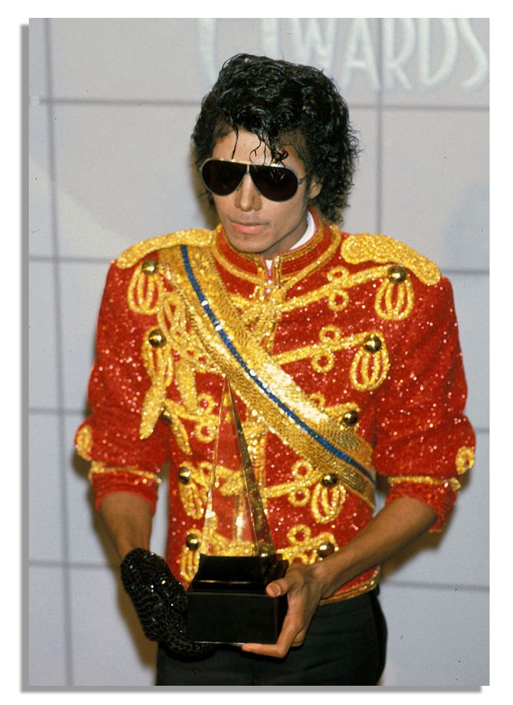 Image result for michael jackson 1984 ama