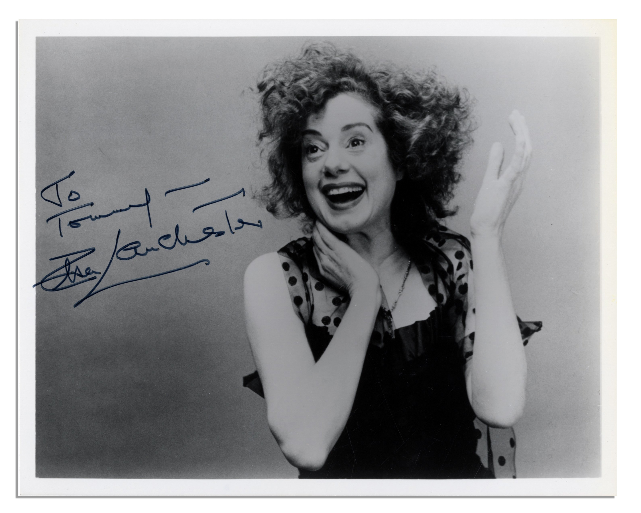 Bride of Frankenstein Actress Elsa Lanchester Signed 10   x 8   Glossy    Bride Of Frankenstein Actress